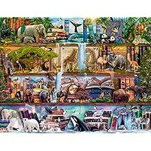 Ravensburger Großartige Tierwelt Puzzle - Rompecabezas (Puzzle rompecabezas, Flora & fauna, Niños y adultos, Niño/niña, 14 año(s), 800 mm) , color/modelo surtido