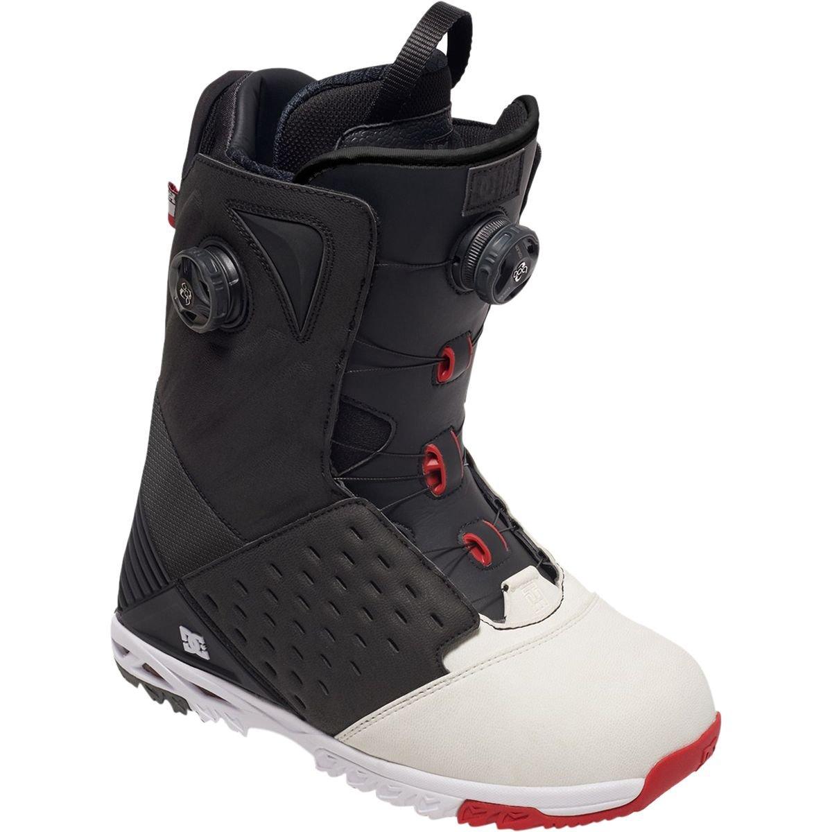 DC - Herren Torstein Horgmo Snowboard Stiefel, 40.5, schwarz Weiß rot