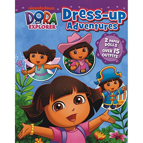 Nickelodeon Dora the Explorer Dress-Up Adventures: 2 Paper Dolls, Over 15 Outfits! [Feb 28, 2014] Parragon