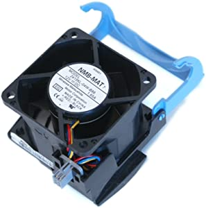 Dell H2401 W5451 Computer Case Cooling 12Volt~1.65Amp Fan and Shroud Assembly For PowerEdge 2800, 2850 Systems, Compatible Part Numbers: 2415KL-04W-B86, AFB0612EHE