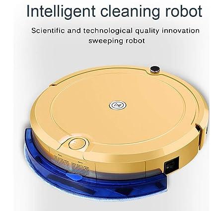 COL PETTI Robot Aspirador, Extremadamente silencioso, Alta suCción, 9cmUltra-Delgadas Aplicaciones de