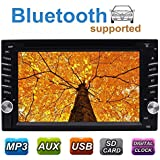 Universal In Dash Car Radio Stereo Double 2 Din Autoradio Head Unit support DVD CD Player GPS Navi Three Customized UIs Subwoofer Cam-In 1080P Video Sensitive Touch Screen Wireless Remote Control