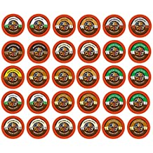 Crazy Cups Seasonal Premium Hot Chocolate Single Serve Cups for Keurig K Cup Brewers, Variety Pack Sampler, 30 Count