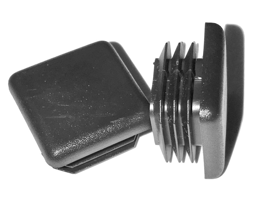 1' SQUARE TUBING END CAP PLUG - QUANTITY OF 8 Full Throttle
