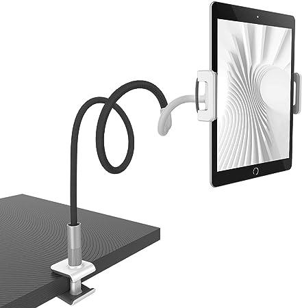Tablet Halter Flexible Einstellbare Tablet Halterung Bett f/ür Pad Mini 2 3 4 Switch Pad Air unibelin Schwanenhals Tablet Halterung Neu Pad Pro 2019 Phone und Weitere 4-10,6 Zoll Ger/äte