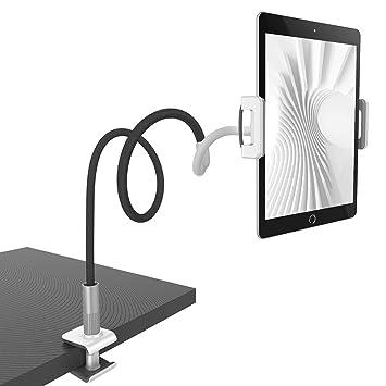 Lamicall Gooseneck Tablet Holder, Universal Tablet Stand : 360 Flexible  Lazy Arm Holder Clamp Mount Bracket Bed for 4 7~10 5