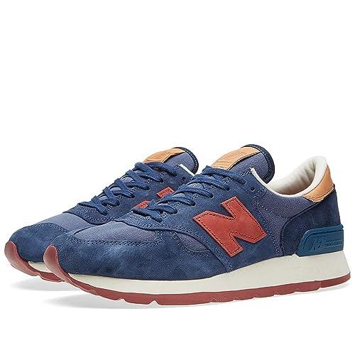 quality design 739b0 a39fe New Balance Distinct Weekend 990 Men's Blue/Orange M990DSA ...