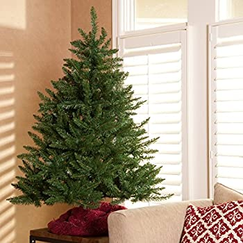 Amazon.com: Classic Tabletop Unlit Christmas Tree - 4.5 ft