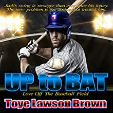 Up to Bat Audiobook by Toye Lawson Brown Narrated by Sandra Parker