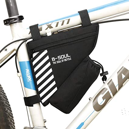 Mountain Bike Bicycle Saddle Bag Water Bottle Bag Cycling Handlebar Front Frame
