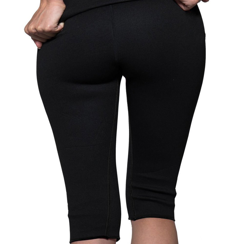 NHEIMA Pantalones Deportivos Mujer, Pantalón de Sudoración Adelgazar, Corsario Short Running, Leggings Push Up, Mallas Termicos de Neopreno, Faja ...