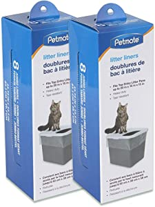 Petmate Top Entry Litter Pan Liners (2)