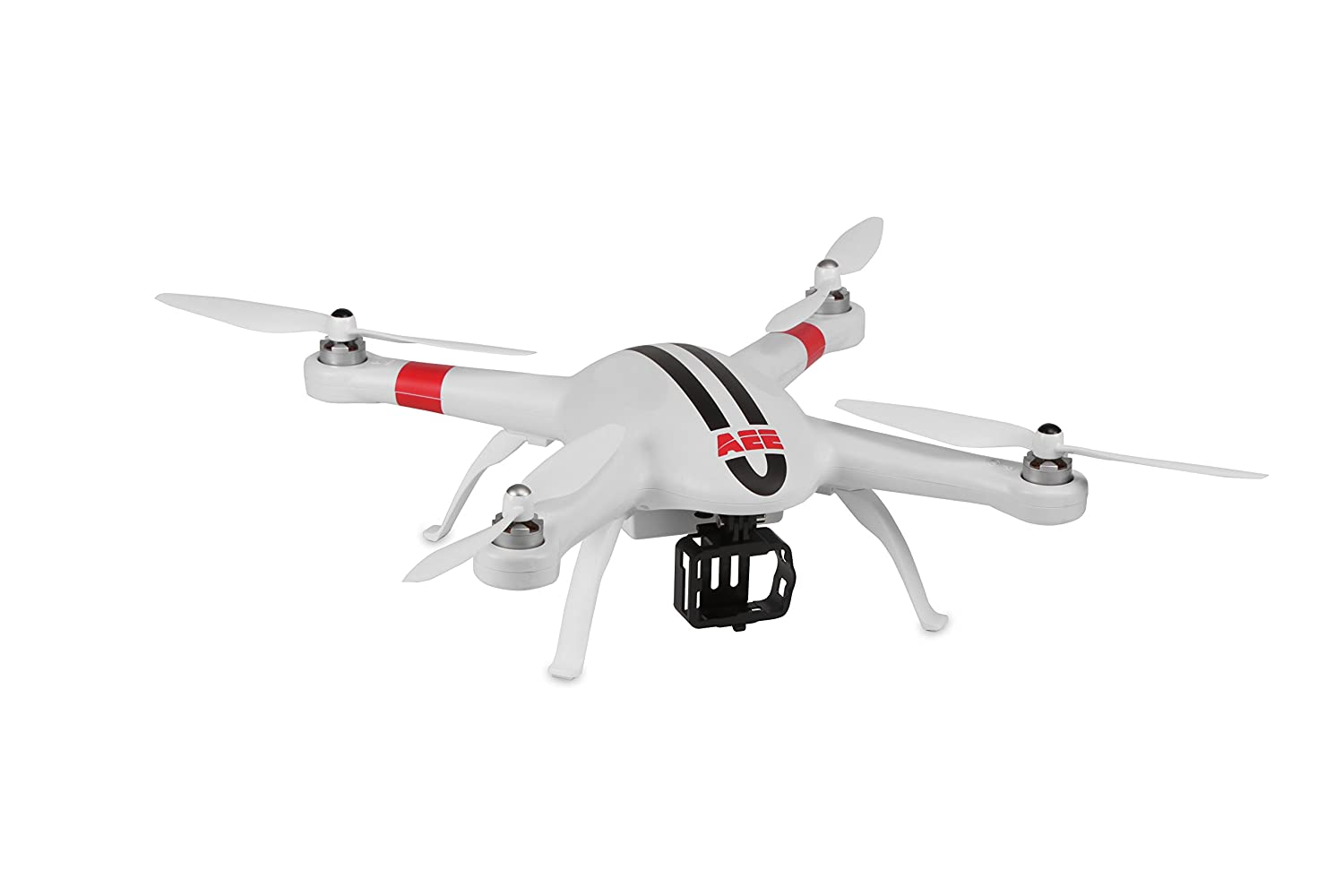AEE Technology APCAM GPS Drone Quadcopter Aircraft System with Full HD 1080P 16MP S40 Action Camera (White) [並行輸入品]   B01789N29Q