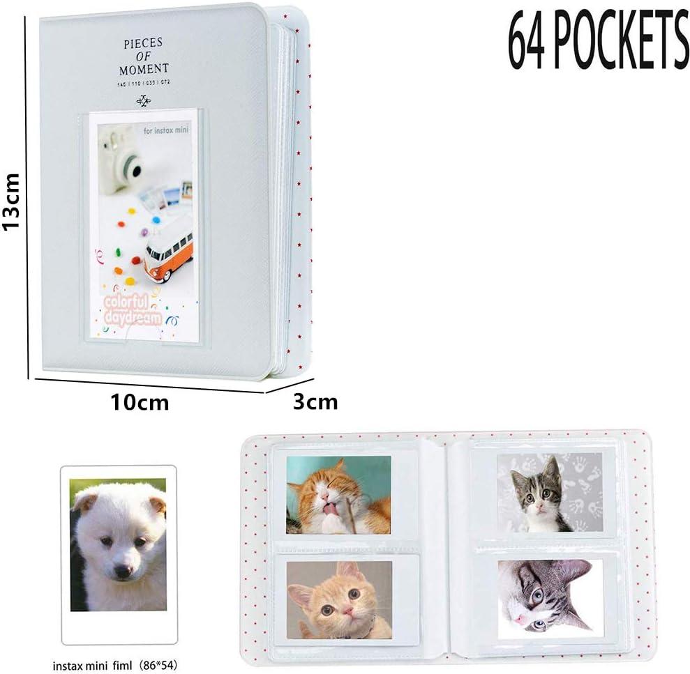 Galaxia Cpano Conjunto de Accesorios para HP Sprocket Impresora port/átil de Fotos//Polaroid Zip Caja de Funda Protectora para Impresora m/óvil.
