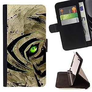 Dragon Case - FOR Apple Iphone 5 / 5S - Don't be limited - Caja de la carpeta del caso en folio de cuero del tir¨®n de la cubierta protectora Shell
