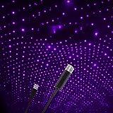 Star Projector Night Light, Adjustable Romantic Galaxy Flexible Interior Car Lights, Portable Night Lamp Decorations for…