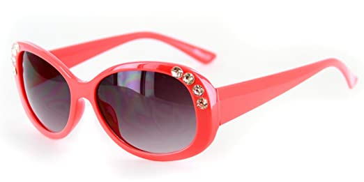 Amazon.com: Chloe Designer Inspired Sunglasses with Stylish Crystal ...