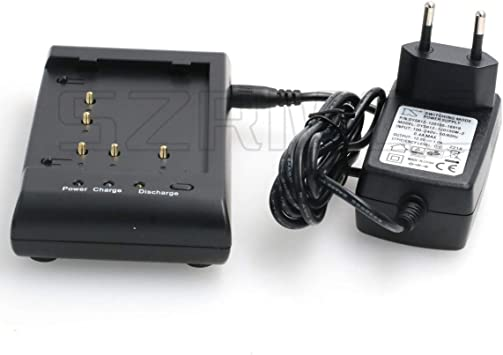 SZRMCC New Total Station Battery Charger for Pentax BP02C Ni MH Battery or GEB111 GEB121 Battery EU Plug