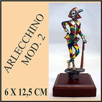 Trofeo premiazione carro Carnaval máscara Arlequín Awards Carnival Wagon