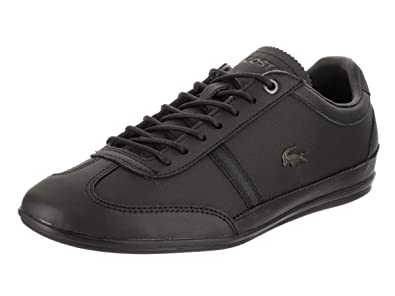 c671ac41cf7c71 Lacoste Men s Misano 318 1 CAM Black Black Casual Shoe 7 Men US