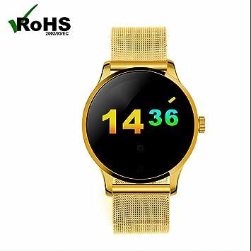 Smart Watch Mujer Reloj Inteligente con Notificación de mensajes/Monitor de Calorías/Fitness Tracker