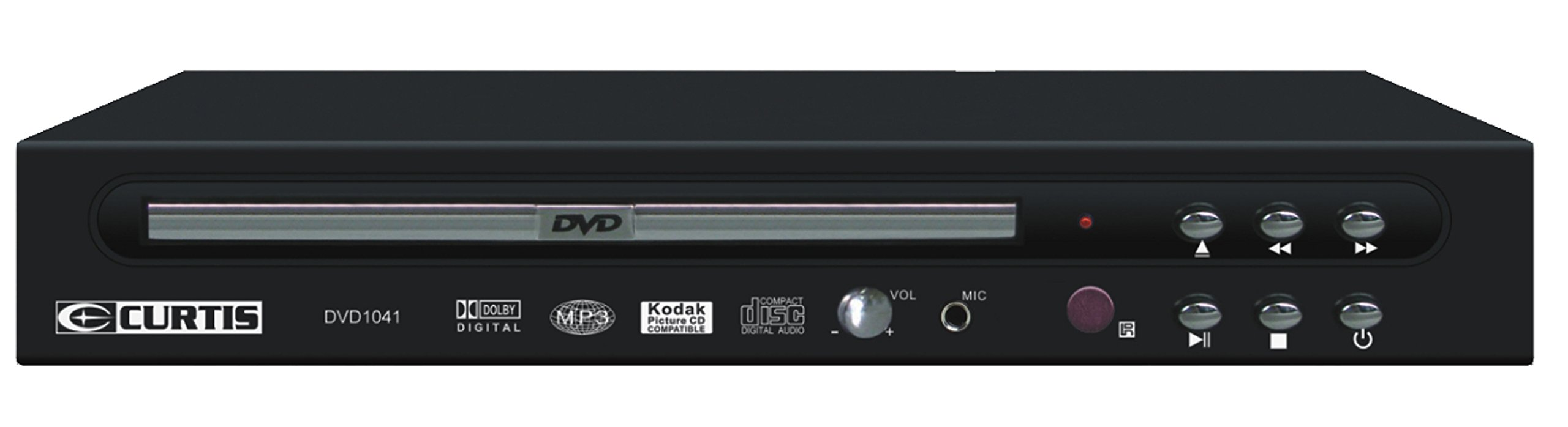 Curtis DVD1041 Compact DVD Player by Curtis