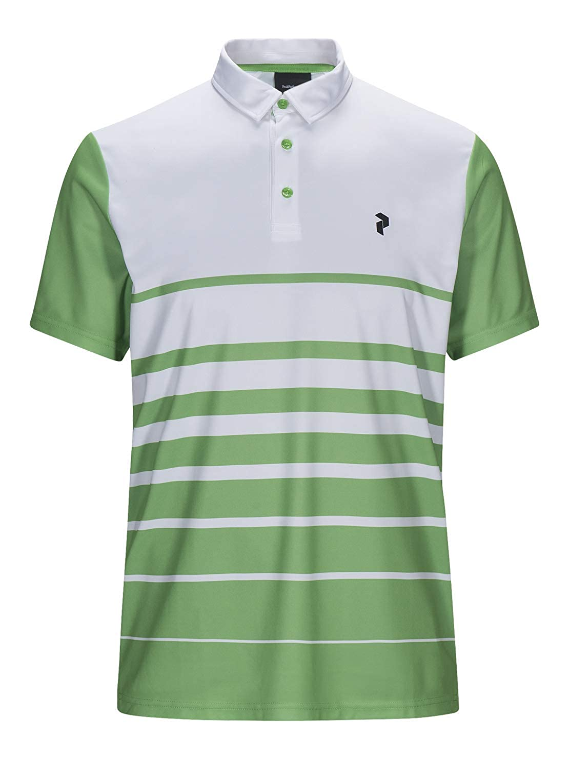 PEAK PERFORMANCE Brandon - Polo de golf, color verde, Unisex ...