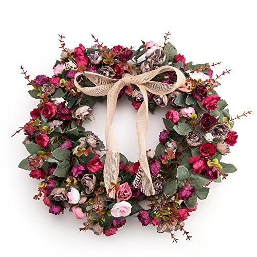 Grapevine Door Wreath Decor - 4