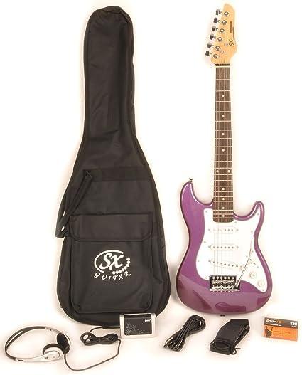 Paquete de guitarra eléctrica 1/2 tamaño con amplificador de ...
