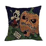 Sudiy Halloween Pillow Cover Pumpkin Pillow Case