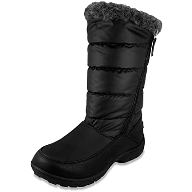 Amazon.com | London Fog Womens Luella Waterproof Cold Weather Snow ...