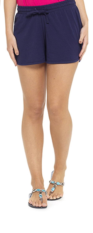 Tom Franks Ladies Girls Plain Summer Beach Pool Swim Shorts Black Blue Khaki Pink Navy Size 8-22