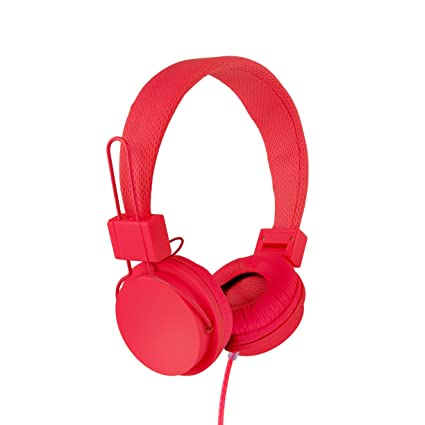 c76105559c0 Amazon.com: Vivitar VIV-1052-RED Foldable Dj Mixer Headphones, Red: Home  Audio & Theater