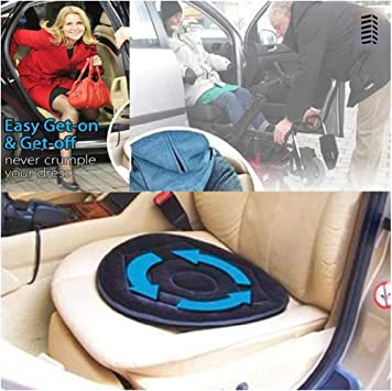 Amazon.com: Flurries - Cojín giratorio de 360° para asiento ...