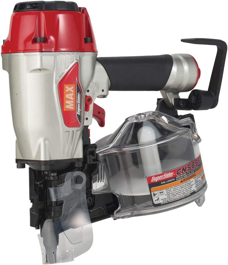 MAX USA CORP. CN565S3 Siding Coil Nailer