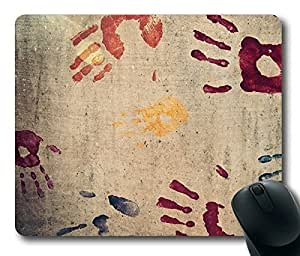 Handprints POP Masterpiece Limited Design Oblong Mouse Pad by Cases & Mousepads