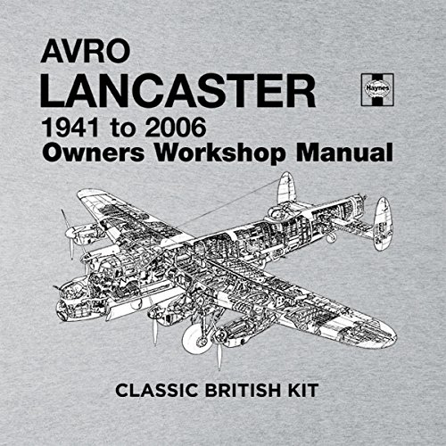 Haynes Owners Workshop Manual Arvo Lancaster 1941 to 2006 Women's Vest