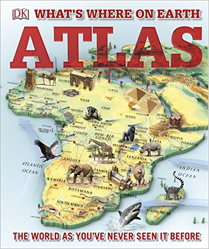 What's Where on Earth? Atlas: The World as You've Never Seen It Before! pdf epub