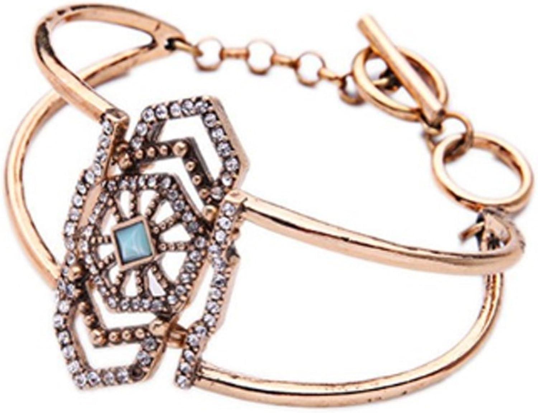 Bedrock Art Deco Bridal Accessories Modern Gold or Silver Stone Hair Comb Handmade Geometric Headpiece Contemporary Minimalist Style