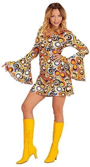 Karneval Klamotten Hippie Hemd Damen Herren Flower Power