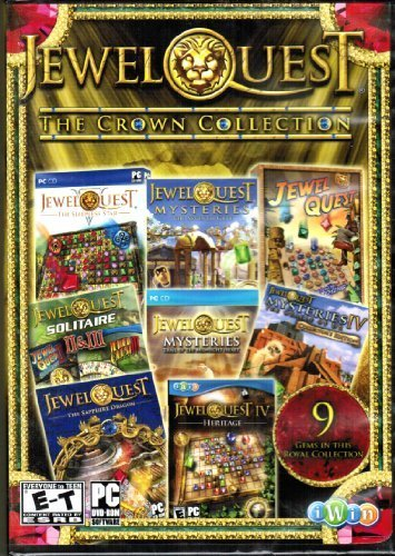 Jewel Quest The Crown Collection (PC - Game Cd Puzzle