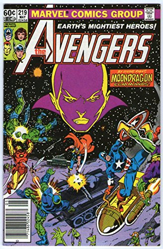 AVENGERS 219 MOONDRAGON COVER NM-