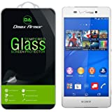 Sony Xperia Z3v Glass Screen Protector, Dmax Armor [Tempered Glass] 0.3mm 9H Hardness, Anti-Scratch, Anti-Fingerprint, Bubble Free, Ultra-clear
