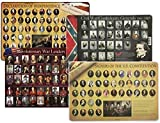 Painless Learning American History Laminated Placemats: US Constitution Signers, Civil War Leaders, Declaration Signers, United States Revolutionary War Leaders