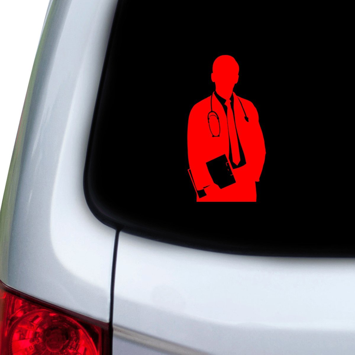 Hoods Doors Red StickAny Car and Auto Decal Series Doctor Body Sticker for Windows