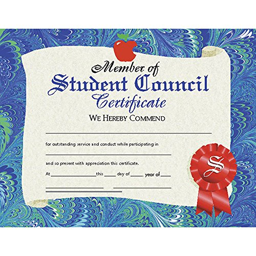 Student Council Certificate (Set of 30)]()