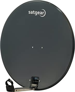 Satgear - Sistema satélite portátil con antena parabólica de ...