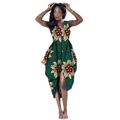 Private Customized Vestido Africano para Mujer, cóctel, Talla ...