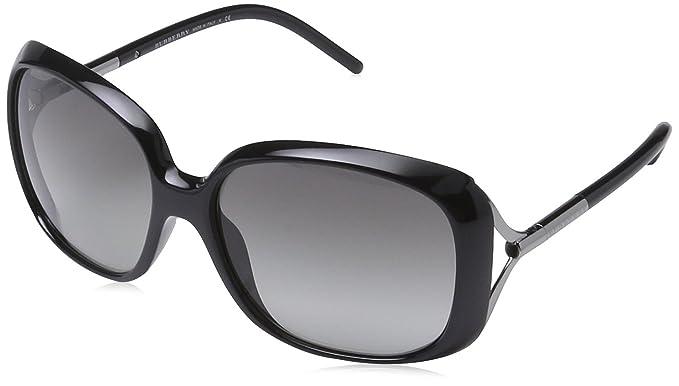 8af9bc3257b3 Burberry Women s BE 4068 Wayfarer Sunglasses