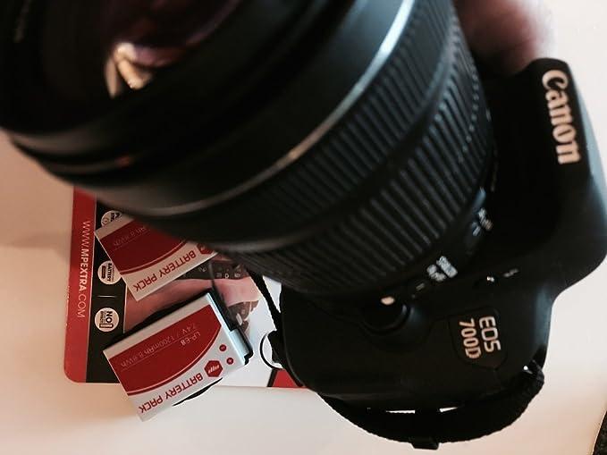 2 x Batería MP EXTRA ® LP-E8 LPE8 para cámaras Digitales Canon EOS ...
